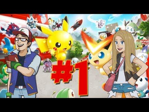 PokéPlay: Pokémon Rumble U - Part 1 - Environmentally Friendly