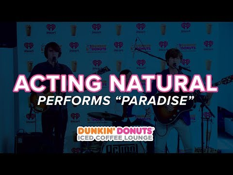 Acting Natural Perform 'Paradise' Live | DDICL