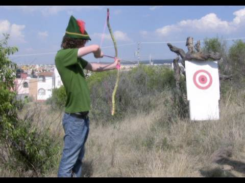 How To Make A Bow And Arrow Youtube