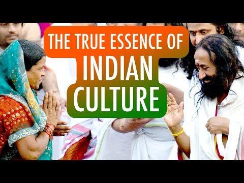 Gurudev Shares The True Essence Of Indian Culture | Gurudev Sri Sri Ravi Shankar