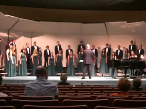 "Bonita High School Chamber Singers sing ""From Where I Stood"""