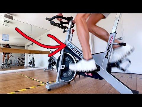 "I tried a ""real"" SPIN bike"