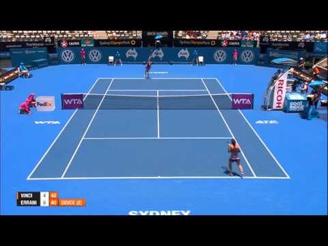 Roberta Vinci v Sara Errani Highlights, 2014 Apia International Sydney