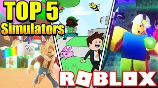 TOP 5 Roblox SIMULATORS GAMES 2019! You SHOULD Play These!