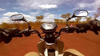 Postie Bike Adventures Australia :Red Dog Pilbara Postie Bike Adventure