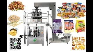 Automated Peanut/dried Fruits/nuts Weighing Packaging Machine Preformed Bag Filler Sealer Bagger