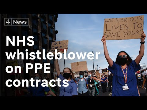 NHS whistleblower speaks out on PPE contracts as PM faces criticism