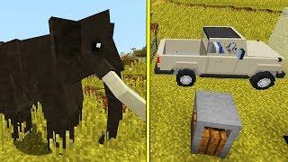 Minecraft Mods: 30+ verschiedene Tiere - Minecraft ZOO MOD Deutsch