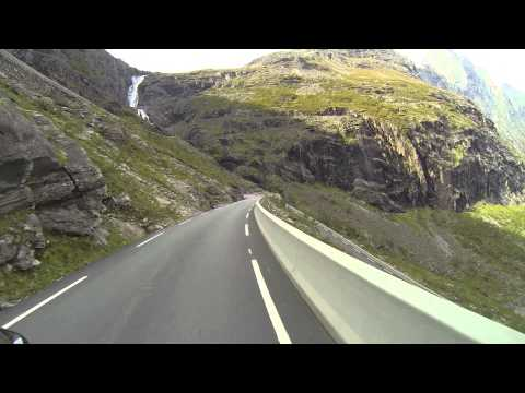 Norway Motorbike Trip, Geiranger to Trollstigen and Åndalsnes
