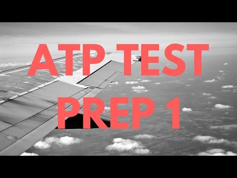 Part 1: FAA Test ATP Airline Transport Pilot and Aircraft Dispatcher ADX Calculation Tutorial (HD)