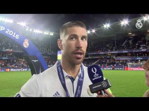 """Sergio Ramos: """"Empezar la temporada ganando un título siempre es increíble"""""""