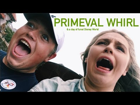 PRIMEVAL WHIRL RIDE VIDEO | Disney World CRP Vlog 2017-18