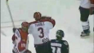 Keith Yandle - Moncton Wildcats Goal