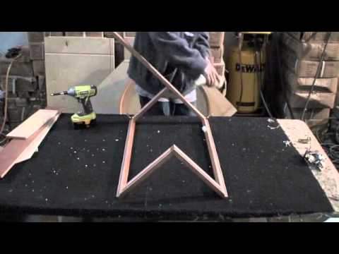How to Assembly a Lazy Susan (1 of 2) Base Cabinet - YouTube