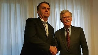 Bolton Meets Far-Right President-Elect Bolsonaro to Nail Down Closer Cooperation with Brazil