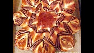 """Пирог  с вареньем   """"ЦВЕТОК"""" - Оочень вкусный/Pie """"FLOWER"""" with varenem- Oochen delicious /"""