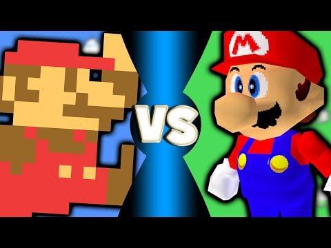 Super Mario Bros Vs Super Mario Bros 64