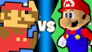 Super Mario Bros Vs Super Mario Bros 64