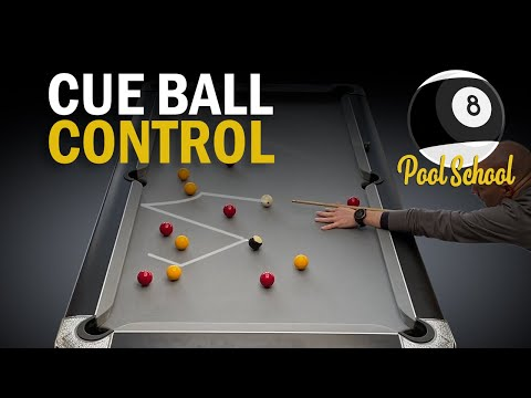 Cue Ball Control - Pool Practice | Pool School