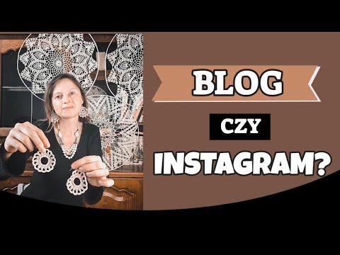 BLOG CZY INSTAGRAM? Czy profil na Instagramie jest w stanie zastąpić bloga?