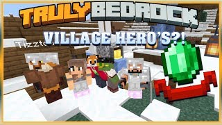 Truly Bedrock S1 EP00 : Village Hero?! [ Minecraft, MCPE, Bedrock Edition,Windows 10 ]