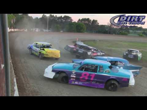 Princeton Speedway 7/15/16 IMCA Stock Car Crash