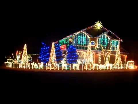 Awesome Dubstep Christmas Lights! Great Pictures