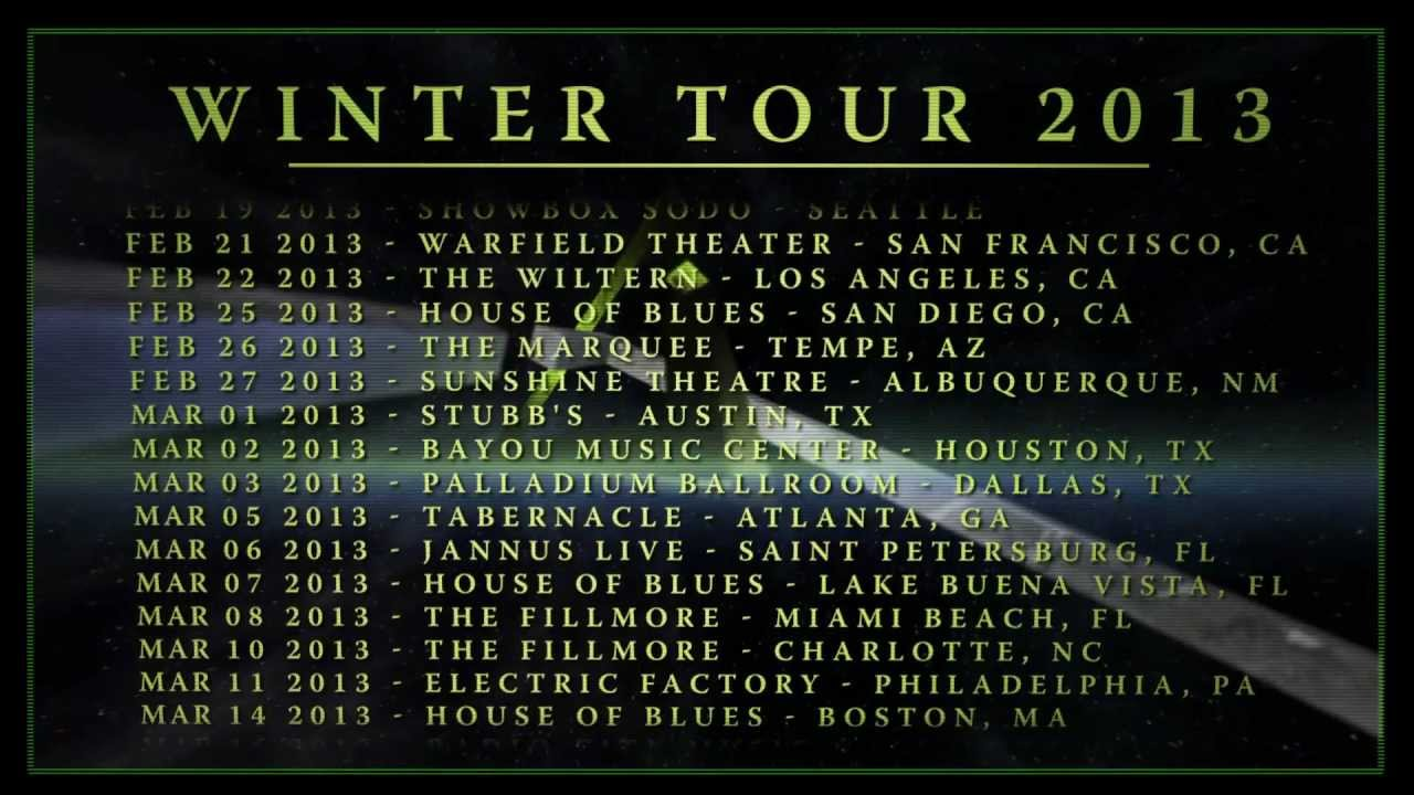 Coheed and Cambria tour with Between the Buried and Me, Russian Circles