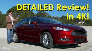 2015 Ford Fusion SE 1.5L Ecoboost DETAILED Review and Road Test