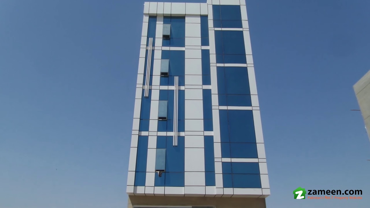 100 Sq Yd  COMMERCIAL BUILDING FOR SALE IN PHASE 8 DHA KARACHI