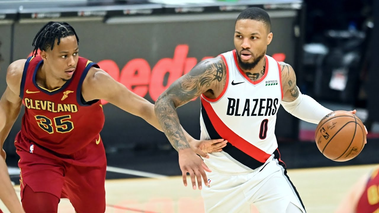Lillard 32 Pts! Blazers Drop 141 on Cavs! 2020-21 NBA Season