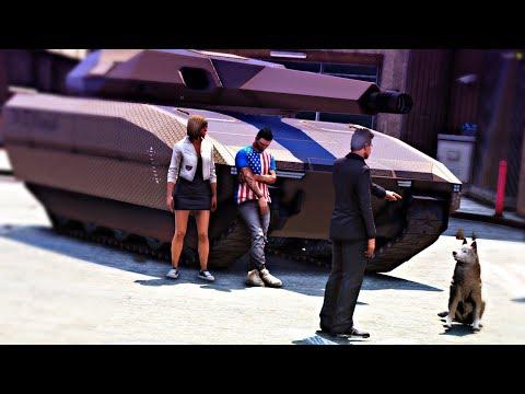 GTA V : VIDA REAL - TUSK VAI VIRAR MILITAR!?!?! - #294