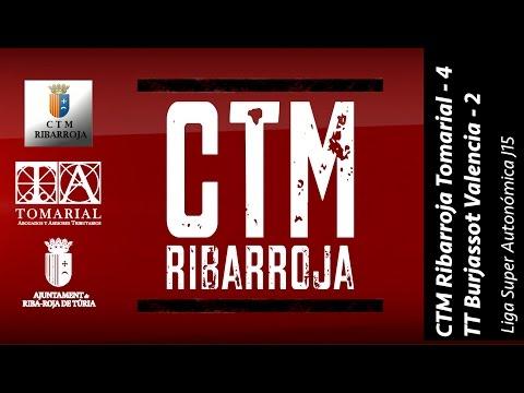 CTM Ribarroja Tomarial 4 - 2 TT Burjassot Valencia