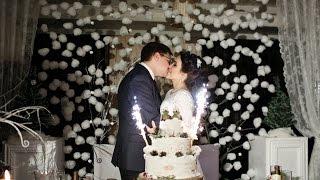 Волшебная зимняя свадьба для Сергея и Натальи. Красивый свадебный клип.