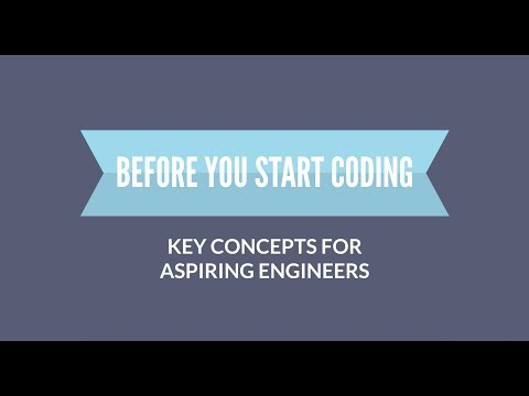 Before You Start Coding: Key Concepts for Aspiring Engineers