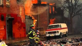06-09-11 City of Camden 14 Alarm Fire