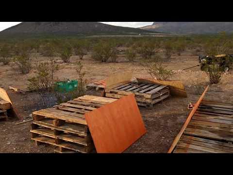 Another week in Terlingua - OFF-GRID - TERLINGUA TEXAS - HOMESTEAD