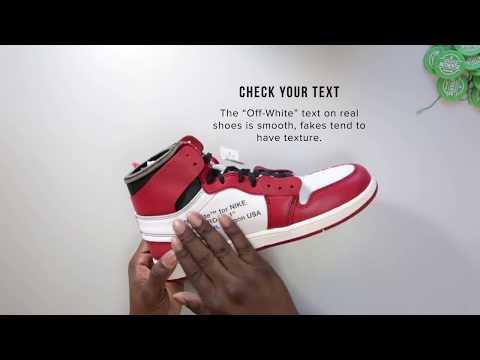 adad46ff StockX Authentication Tips - Jordan 1