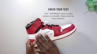 StockX Authentication Tips - Jordan 1