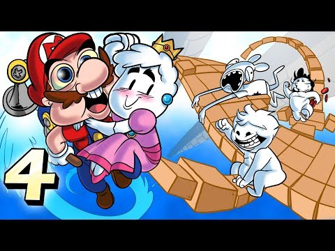 Oney Plays Super Mario Sunshine WITH FRIENDS - EP 4 - Eiffel Tower State Building