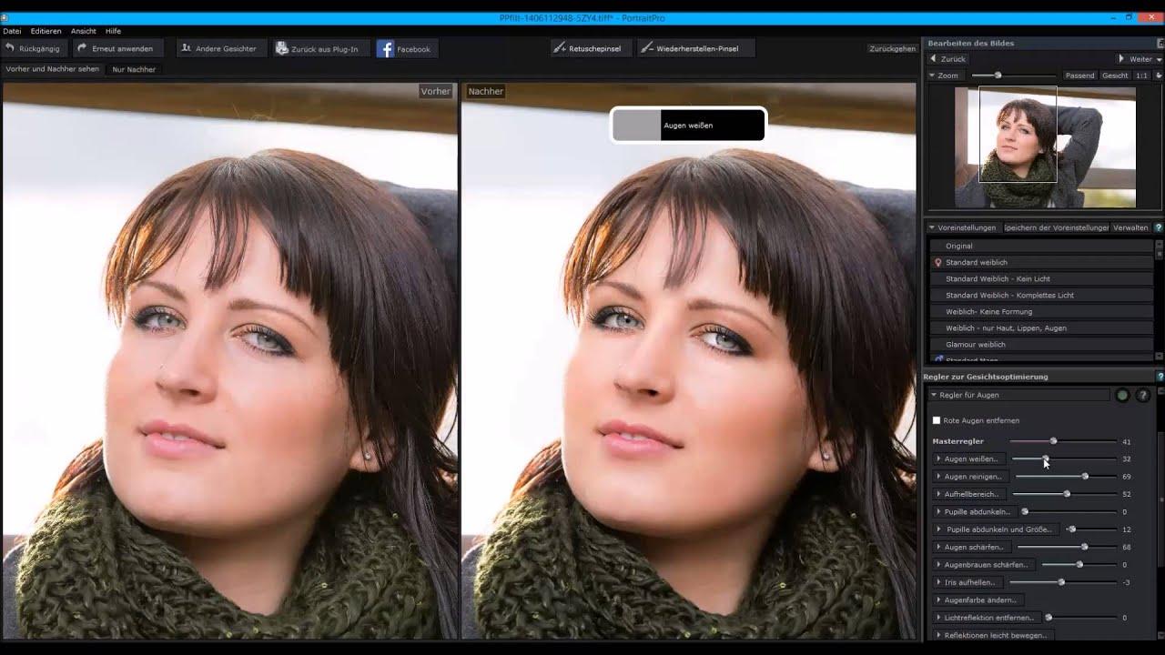 Photoshop Plugin Empfehlung Portrait Pro Youtube