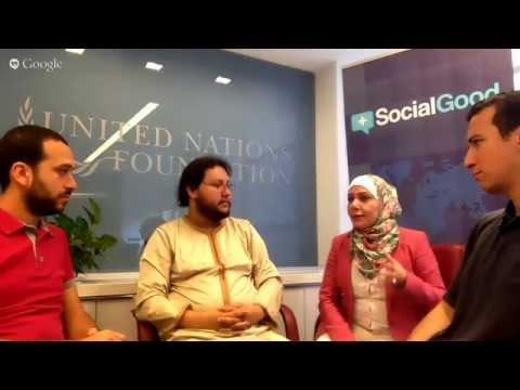 MENA+SocialGood Hangout #3 - From Washington, DC