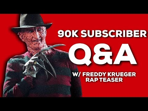 Freddy Krueger Rap Teaser + 90K Q&A Getting To Know Daddyphatsnaps