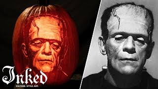 Carving Frankenstein