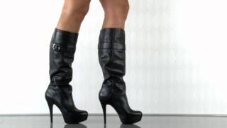 Guess Shoes Picalo in Black Leather