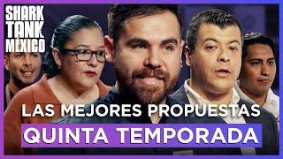 Las Mejores Propuestas de la Quinta Temporada | Compilación | Shark Tank México