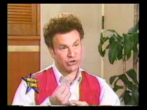 1989 Batman Movie Time Clip Interview Actor Robert Wuhl Alexander Knox 1989Batman.com