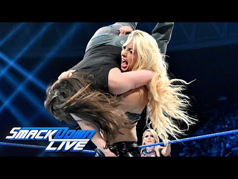 Alexa Bliss & Nikki Cross vs. Mandy Rose & Sonya Deville: SmackDown LIVE, Sept. 3, 2019