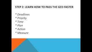 Ged Fast Steps You Need Take