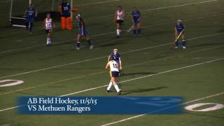 Acton Boxborough Varsity Field Hockey vs Methuen 11/5/15